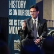 Former House Majority Leader Eric Cantor, CCAS BA '85, headlined the sixth Wall Street Symposium at Lincoln Center.