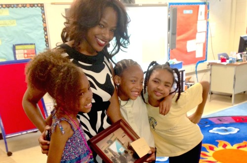 Sarah Hillware, BA '13, is working to help educate underprivileged young girls through her nonprofit, Girls Health Ed.