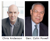 Chris Anderson & Colin Powell