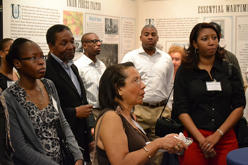 culture buffs at african american museum