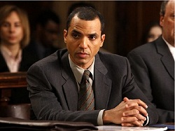 Nicholas as Attorney Linden Delroy in NBC's Law & Order: SVU