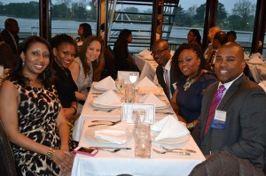 Guests mingle at the 5th Annual Black Alumni Reunion
