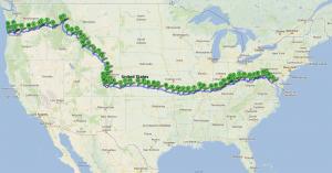 2013 Lasky Bike Route