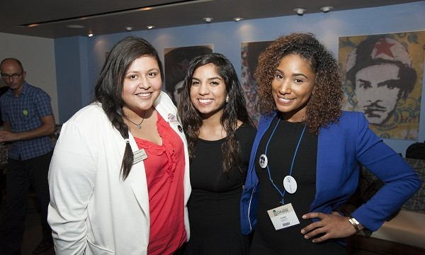 Enjoying Saturday's final event, the sold out Latino Alumni Soiree