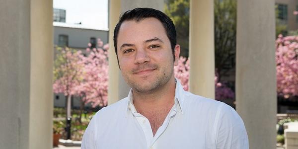 Michael R. Komo chair of the GW LGBT Alumni Association. (Photo: William Atkins)