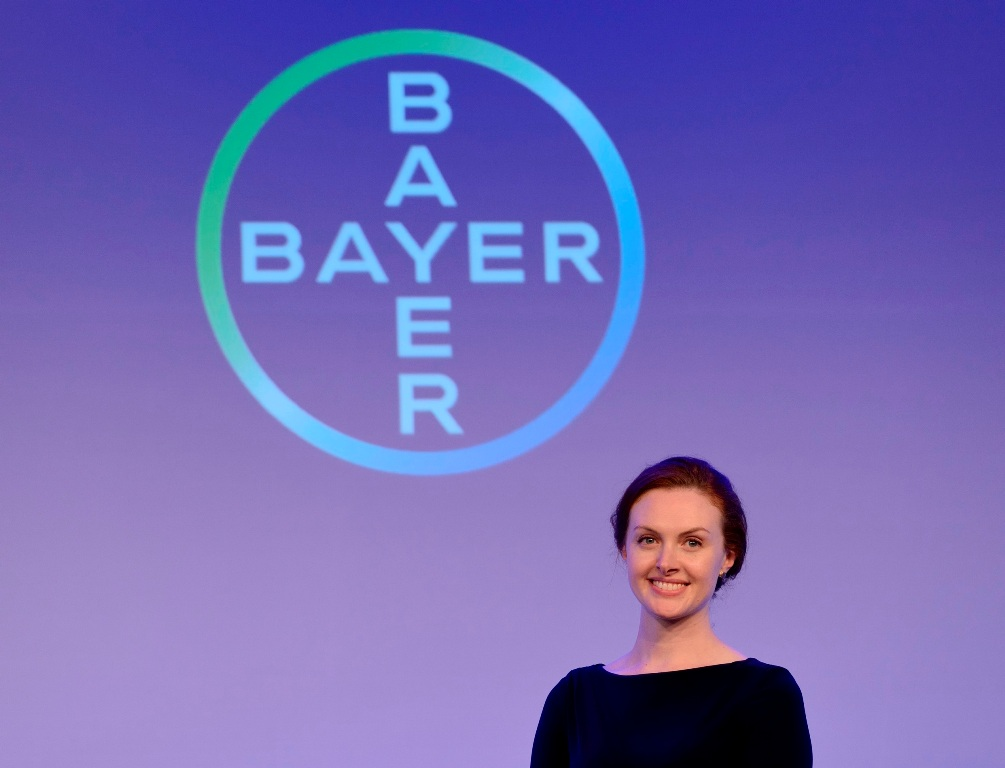 Jessica Federer at the Bayer Digital Summit.