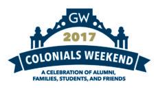 Colonials Weekend logo