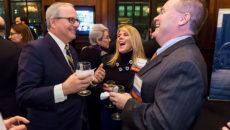 President LeBlanc speaks to GW parents in Philadelphia