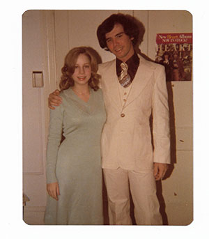 Mark and Michele Lerner in college at GW